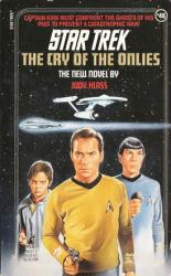 Star Trek: The Cry of the Onlies paperback book (1989)