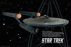 Star Trek poster: U.S.S. Enterprise (36x24) TV series