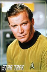 Star Trek poster: William Shatner as Captain Kirk (24 X 36) TV series