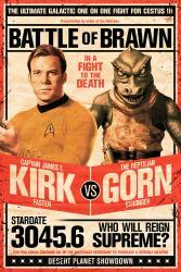 Star Trek poster: Kirk vs. Gorn (24x36) TV series
