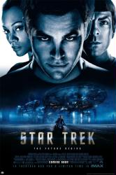 Star Trek movie poster [Chris Pine, Zachary Quinto, Zoe Saldana] 24x36
