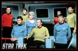 Star Trek poster: Original TV series cast (36'' X 24'')