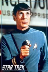 Star Trek poster: Leonard Nimoy as Mr. Spock (24'' X 36'') TV series