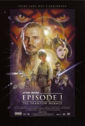 Star Wars Episode I: The Phantom Menace movie poster (24x36)