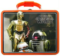Star Wars The Force Awakens: Droids Lunch Box Tin Tote