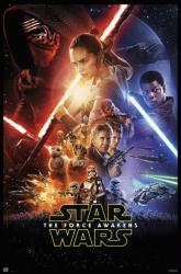 Star Wars: The Force Awakens movie poster [Daisy Ridley] 24x36