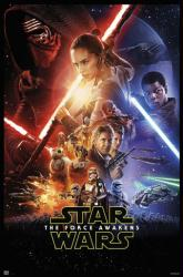 Star Wars: The Force Awakens movie poster [Daisy Ridley] 27x40