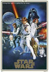 Star Wars movie poster: 40th Anniversary Style C (24x36)