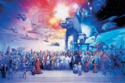 Star Wars movie poster: Characters (36'' X 24'') New