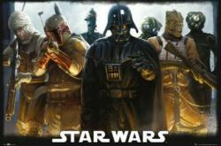 Star Wars poster: Darth Vader & the Bounty Hunters (36 X 24) New