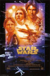 Star Wars movie poster [Mark Hamill, Harrison Ford] 22x34