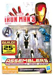 Iron Man 3 [Assemblers] Starboost Iron Man action figure (Hasbro/2012)