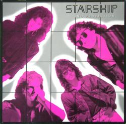 Starship poster: No Protection vintage LP/Album flat (1987)