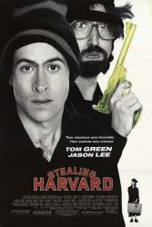 Stealing Harvard movie poster [Tom Green, Jason Lee] 27x40 original