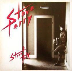 Steve Perry poster: Street Talk vintage LP/Album flat