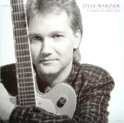 Steve Wariner poster: I Should Be With You vintage LP/album flat