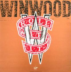 Steve Winwood poster: Roll With It vintage LP/Album flat