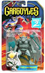 Gargoyles: Stone Camo Broadway action figure (Kenner/1995)