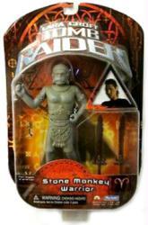 Lara Croft Tomb Raider: Stone Monkey Warrior action figure (Playmates)