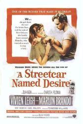 A Streetcar Named Desire movie poster [Marlon Brando & Vivien Leigh]
