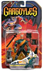 Gargoyles: Strike Hammer MacBeth action figure (Kenner/1995)