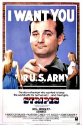 Stripes movie poster [Bill Murray] (an Ivan Reitman film) 27'' X 40''