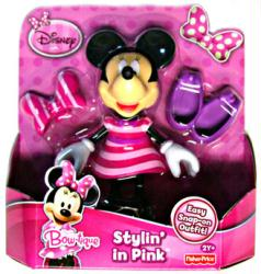 Minnie Mouse Bow-tique: Stylin' In Pink Minnie figure [Disney]