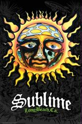 Sublime poster: 40oz to Freedom sun logo (24x36)