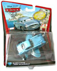 Cars 2 [Disney/Pixar] Submarine Finn McMissile deluxe vehicle