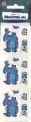 Monsters, Inc.: Sulley stickers (Sandylion) New in package