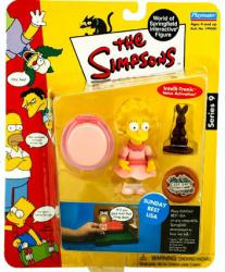 The Simpsons Series 9: Sunday Best Lisa action figure (Playmates/2002)