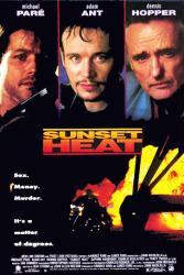Sunset Heat movie poster [Michael Pare, Adam Ant, Dennis Hopper] 27x40