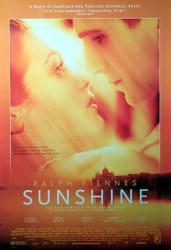 Sunshine movie poster [Ralph Fiennes & Rachel Weisz] NM
