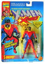 X-Men X-Force: Sunspot action figure (ToyBiz/1994)