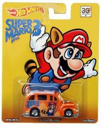 Hot Wheels: Super Mario Bros. 3 School-Busted diecast vehicle (Mattel)