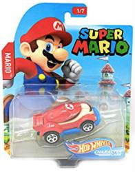 Hot Wheels Character Cars: Super Mario die-cast vehicle