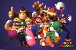 Super Mario poster: Nintendo Cast  (36x24)