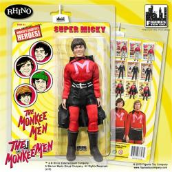 "The Monkees: 8"" Monkee Men Super Micky Dolenz action figure"