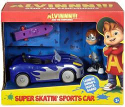 Alvin and the Chipmunks: Super Skatin' Sports Car & Simon figure