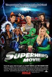 Superhero Movie poster [Leslie Nielsen/Tracy Morgan/Pamela Anderson]