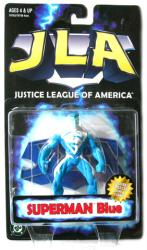 JLA [Justice League of America] Superman Blue figure (Kenner/1998)