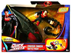 Man of Steel Quick Shots: Cruiser Smash Battle Pack & Superman figure