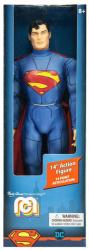 "DC: Superman [New 52] 14"" retro-style action figure (MEGO)"