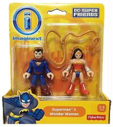 Imaginext DC Super Friends: Superman & Wonder Woman figure 2-pack