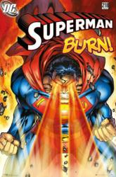 Superman poster: Burn (24x36) Issue 218 cover art