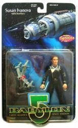Babylon 5: Susan Ivanova action figure with Starfury (WB Toys)