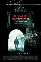 Sweeney Todd movie poster [Johnny Depp] a Tim Burton film (27x40) NM