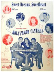 Sweet Dreams, Sweetheart sheet music [Joan Crawford, Bette Davis] 1944
