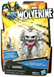 Wolverine: Sword Slash Silver Samurai action figure (Hasbro/2012)