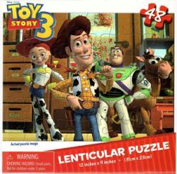 Toy Story 3 jigsaw puzzle: Lenticular (Cardinal) 48-piece